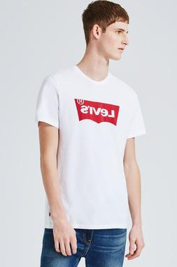 Men's Levi's Graphic Printed Crew Neck Short Sleeve T-Shirt