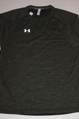 Men's new Under Armour Golf fitted Heat Gear shirt Size Larg