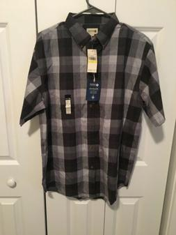 MEN'S NEW WITH TAGS HAGGAR  BUTTON DOWN SHIRT SIZE MED