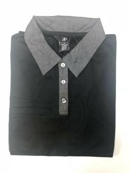 Calvin Klein Men's Polo Shirt - Black - Sizes Medium & Large