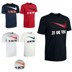 men s short sleeve just do it