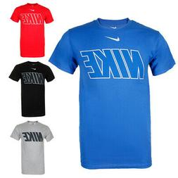 Nike Men's Short Sleeve Logo Graphic Crew Neck Active T-Shir