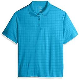 Haggar Men's Short Sleeve Marled Knit Polo - Choose SZ/color