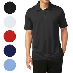 Men's Short Sleeve Moisture Wicking Polo Shirts Performance
