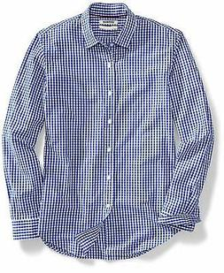 Goodthreads Men's Slim-Fit Long-Sleeve Gingham Shirt, - Choo
