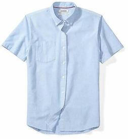 Goodthreads Men's Standard-fit Short-Sleeve Solid Oxford Shi