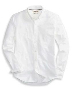 """Goodthreads Men's """"The Perfect Oxford Shirt"""" Slim-Fit, White"""
