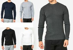 Men's Thermal Shirt Long Sleeve Medium Weight Waffle Knit Wa
