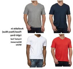 Calvin Klein Men's V-Neck Slub Tee T-Shirt, Choose Color and