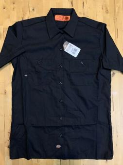 Dickies Men's Work Wear Button Up Shirt Size Adult Medium