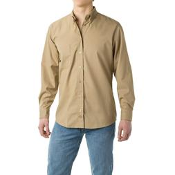 Dickies Men's Woven Work Button Down Shirt Medium Long Sleev