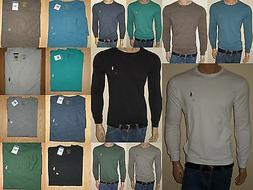 MEN POLO RALPH LAUREN T-SHIRT LONG SLEEVES  STANDARD FIT S,M