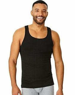 Hanes Men Tank Dyed A-Shirt 4Pack TAGLESS ComfortSoft Classi