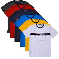 Tommy Hilfiger Mens Crew Neck T-Shirt Short Sleeve Graphic T