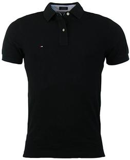 Tommy Hilfiger Mens Custom Fit Solid Color Polo Shirt NWT S,