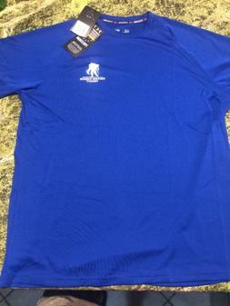 e9c3ac1f Men's Under Armour Heat Gear Medium Loose Blue NWT Wounded
