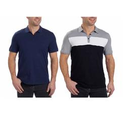 NEW! Calvin Klein Men's Short Sleeve Casual Lifestyle Polo S