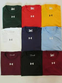 NEW MEN'S UNDER ARMOUR HEAT GEAR S/S LOOSE FIT T-SHIRT, PI