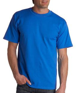 NEW Gildan T-Shirt Men's Short Sleeve 6.1 oz Ultra Cotton Si