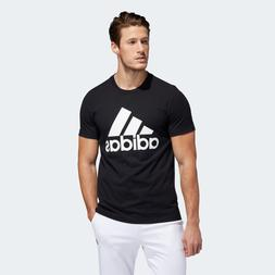 New With Tags Adidas Men's Logo Tee Top Athletic Muscle Gym