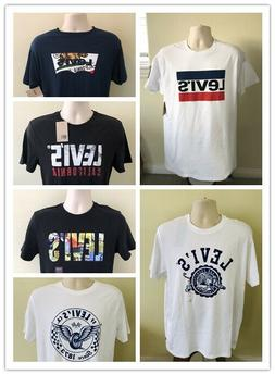 NWT  Men's Levi's Graphic Printed Crew Neck Short Sleeve T-S