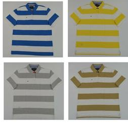 NWT Men's Tommy Hilfiger Short-Sleeve Mesh Custom Fit Polo S