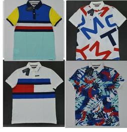 NWT Men's Tommy Hilfiger Short-Sleeve THCOOL Cotton Polo Shi