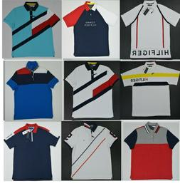 NWT Men's Tommy Hilfiger Short-Sleeve Wicking Performance Pi