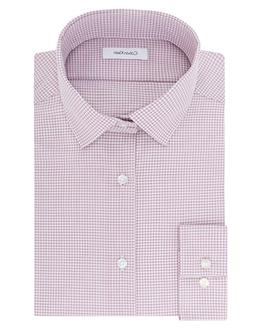 NWT Calvin Klein Mens Dress Shirt Non Iron Slim Fit Gingham