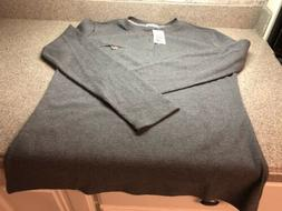 NWT H2H Men's Thermal Henley Crew Neck Cotton Shirt Size M