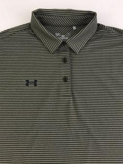 df681d3b Under Armour Polo Loose Heat Gear Shirt Men's L Striped Go