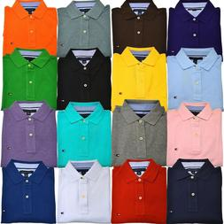 Tommy Hilfiger Polo Shirt Mens Short Sleeve Classic Fit Mesh