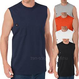 Dickies Sleeveless T shirt  Men Pocket Muscle Tee shirt WS45