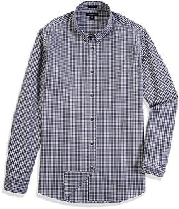Crafted Collar Men's Slim Fit Button Down Sport Casual Shirt