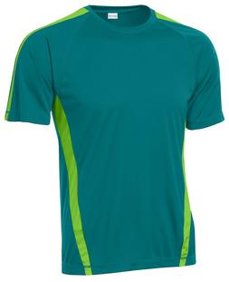 Sport-Tek Men's Big & Tall Colorblock Dri-Fit T-Shirt Workou