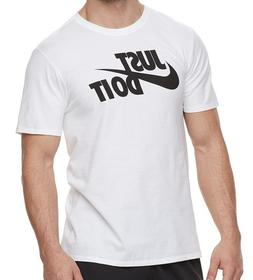 Nike T Shirts Mens Graphic Tees S - 3XL Authentic Just Do It