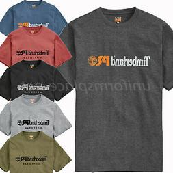Timberland PRO T Shirt Men Screen Printing Short Sleeve Logo