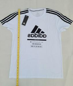 White Adidas Ultimate 2.0 T-shirt Medium Mens