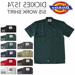 Dickies Work Shirt Short Sleeve All Color & Sizes M-L-XL-2XL