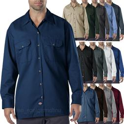 Dickies work shirts Mens LONG SLEEVE button front Shirt 574